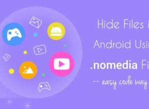How to Create NOMEDIA File on Android device.